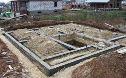 строительство фундамента под